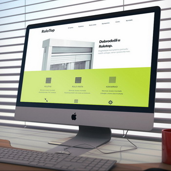 RoloTop web design